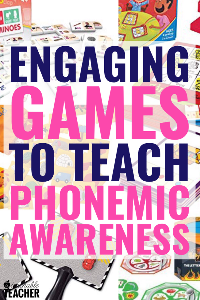 phonemic awareness games