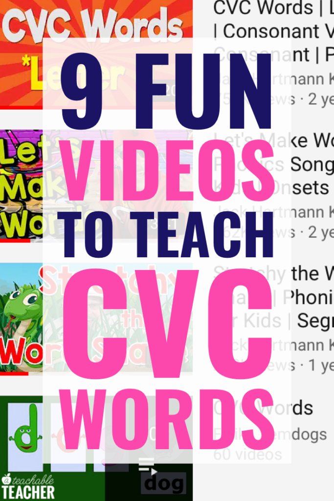 videos to teach cvc words