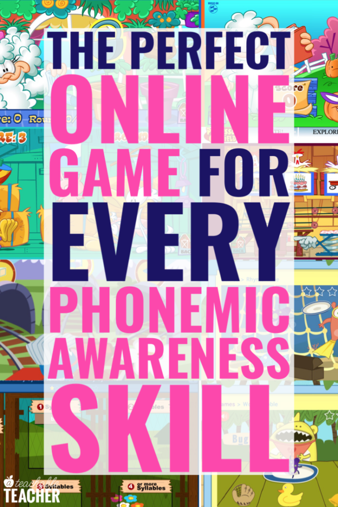 online phonemic awareness games