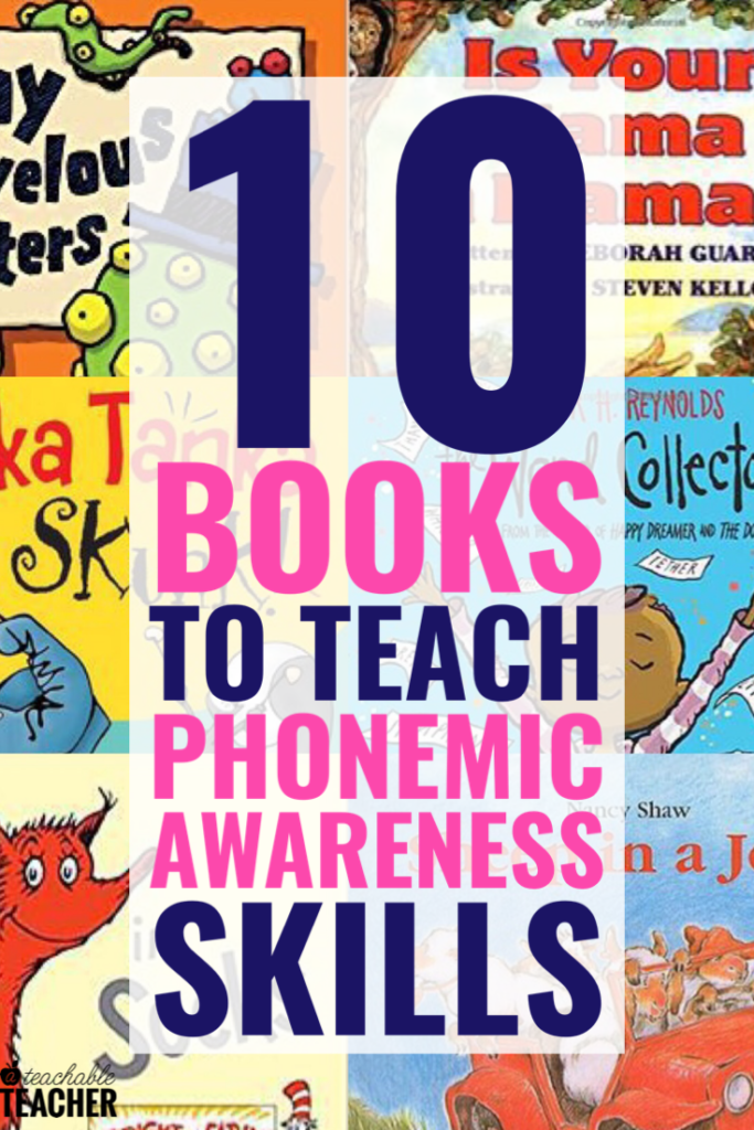 phonemic awareness books