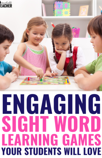 sight word learning games