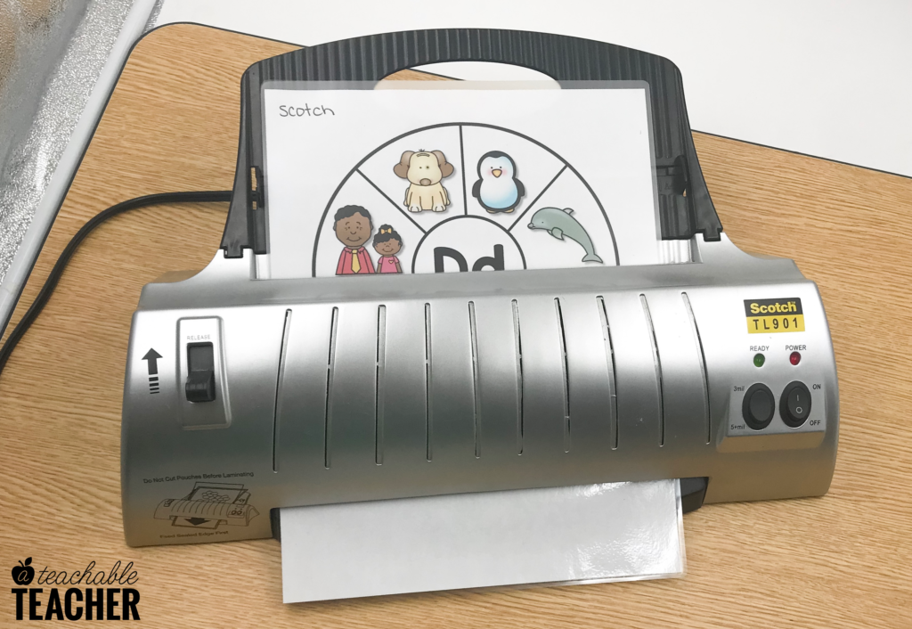 scotch teacher laminator review
