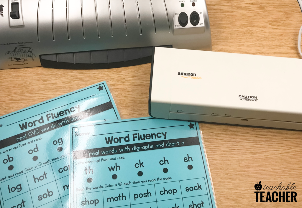 amazon laminator and scotch laminator for teachers