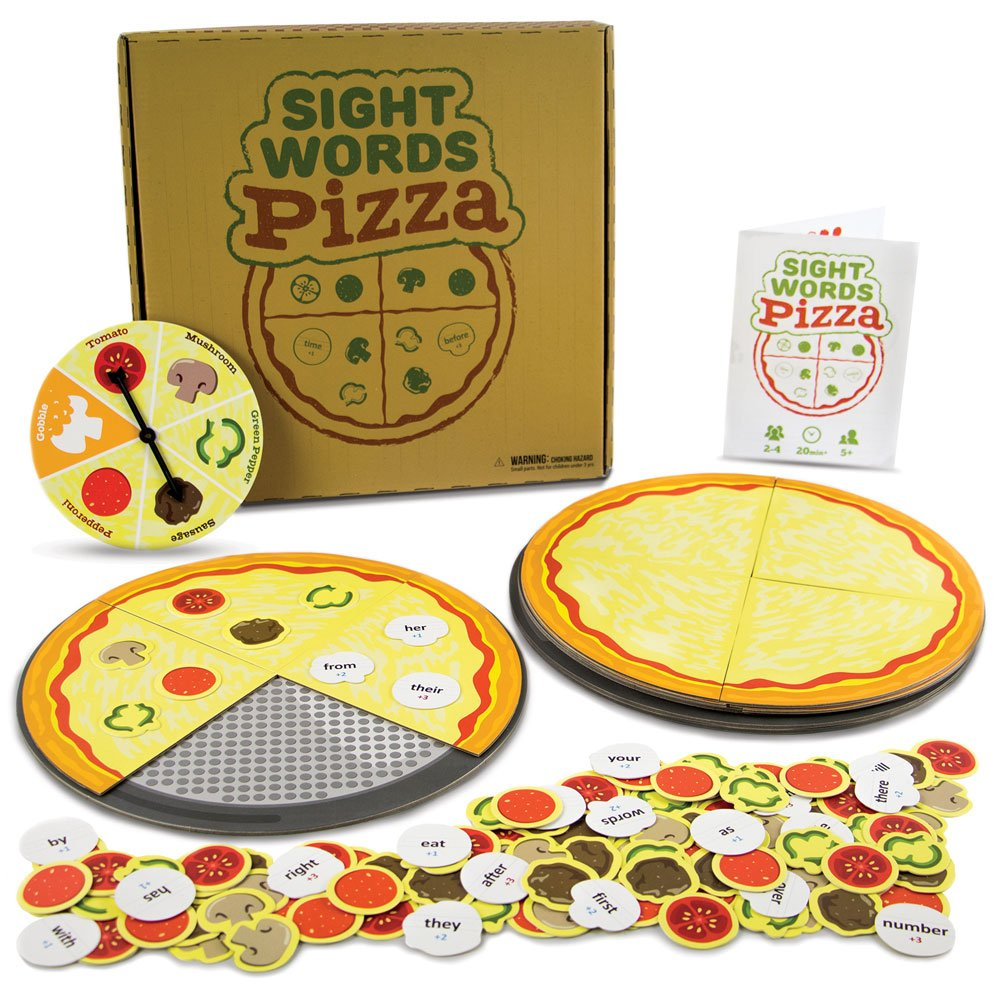 sight word pizza game