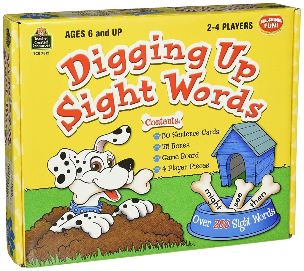 sight word sentences game