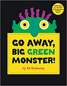 halloween monster book for kids
