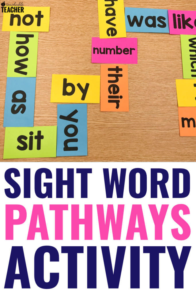 sight word pathways activity