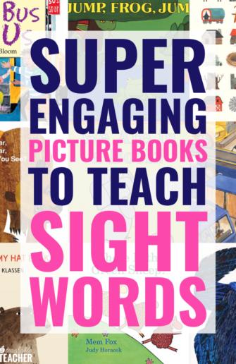 books to teach sight words