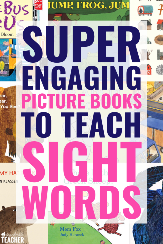 Books to teach sight words
