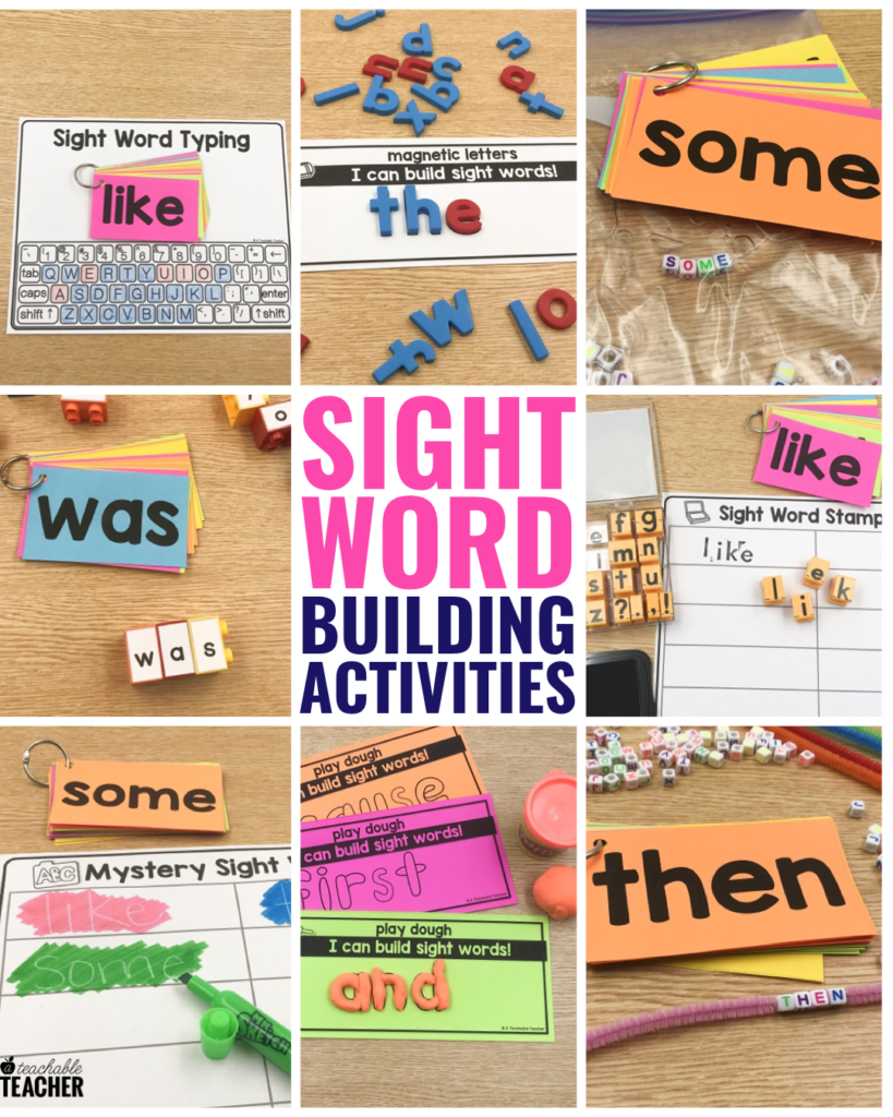 practice sight words