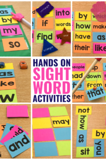 10 Hands-On Sight Word Activities that Your Students will BEG to do!