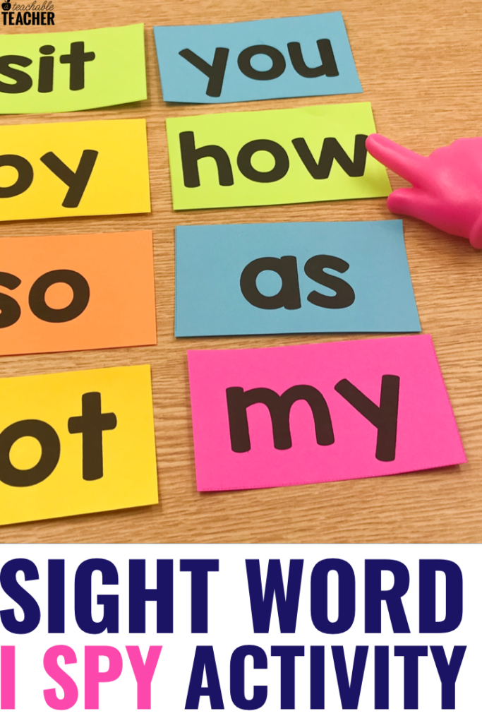 sight word i spy activity