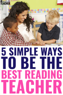 5 ways to be the best reading teacher