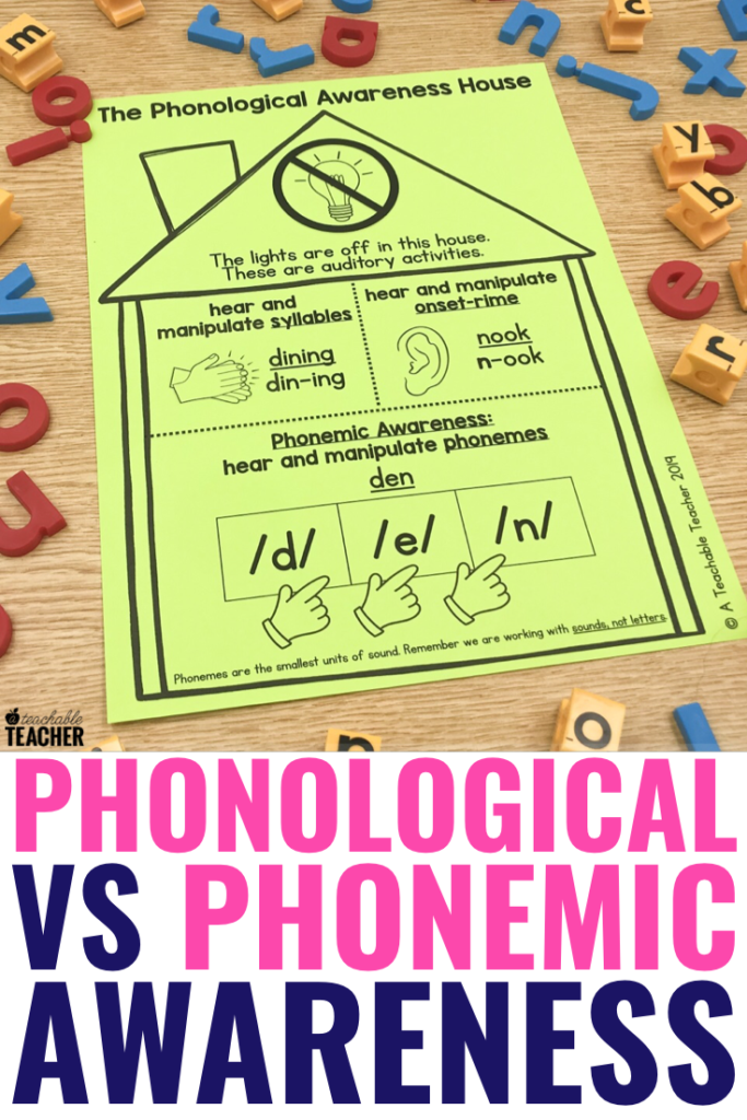 Phonological VS Phonemic Awareness: The Ultimate Breakdown