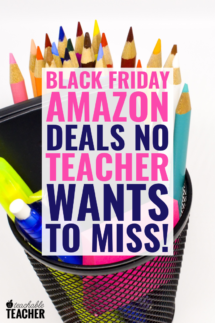 The Ultimate List Of Amazon Black Friday Deals For Teachers 2019
