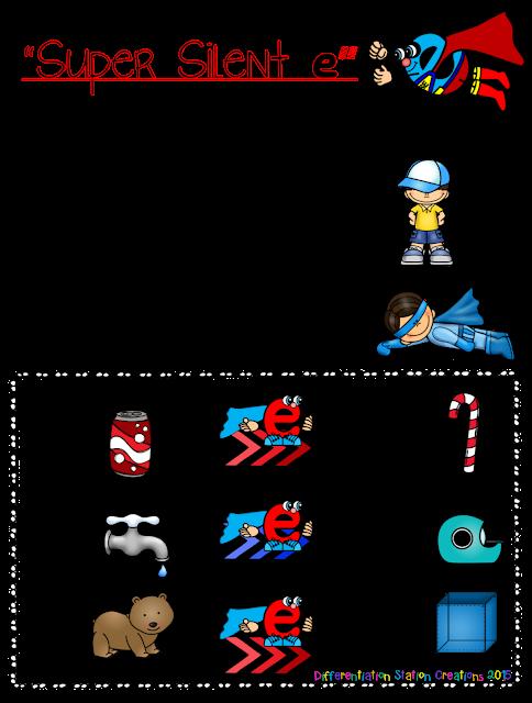 super silent e cvce anchor charts