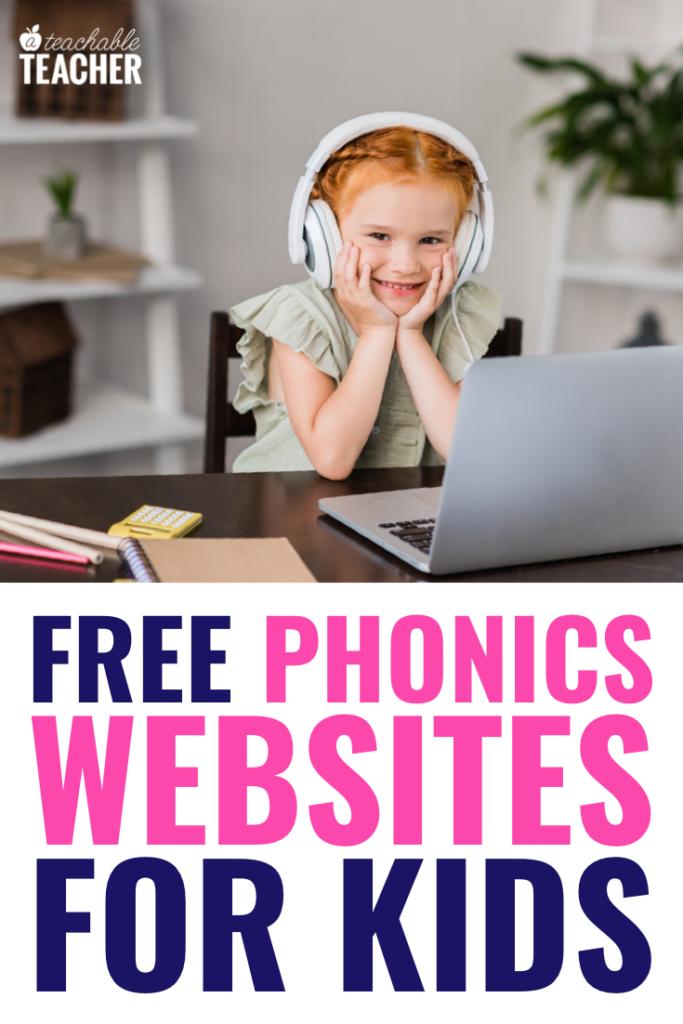 free phonics websites for kids