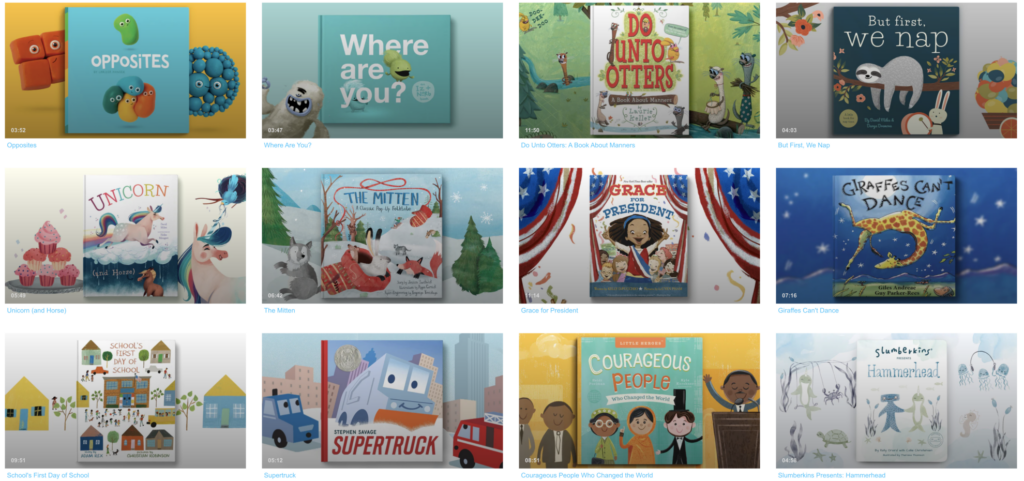 vooks free pictures books online for kids for safe screentime