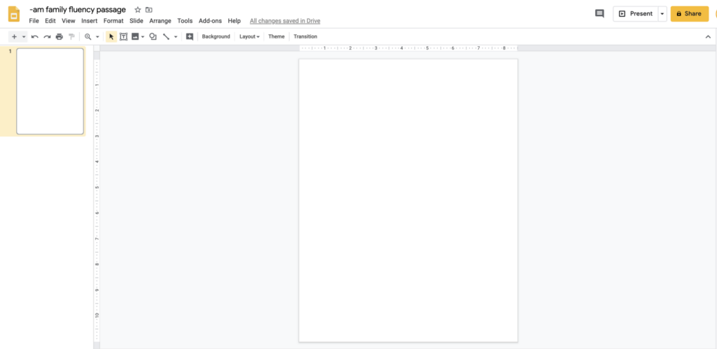 how to delete text box google slides