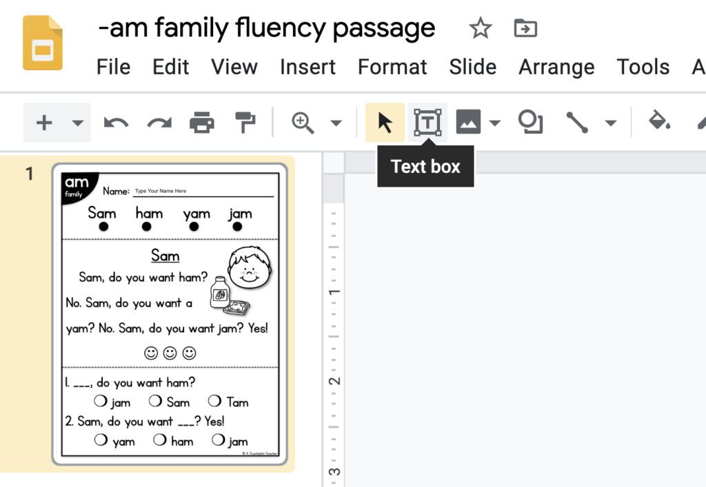 adding a name text box for any resource in google classroom