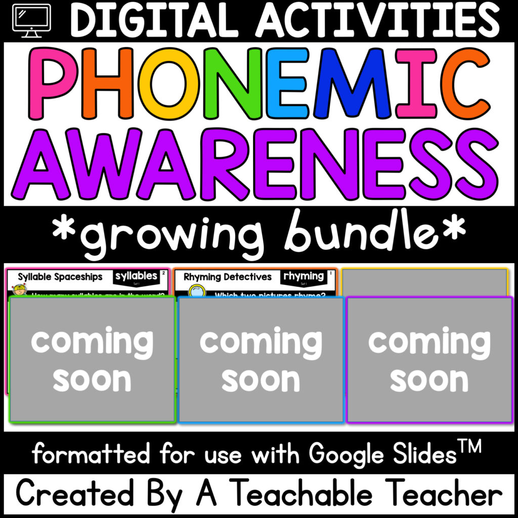 digital phonemic awareness activities