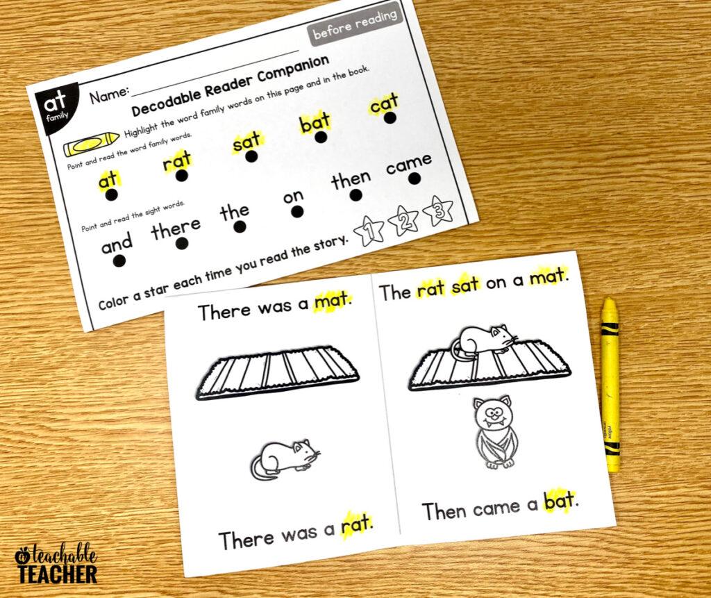 word practice activity