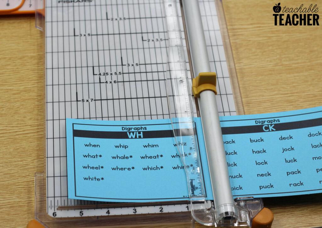 assembling the ultimate set of phonics word lists