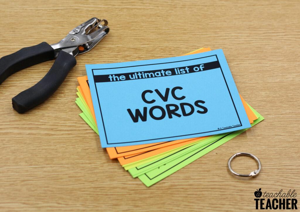 assembling word lists
