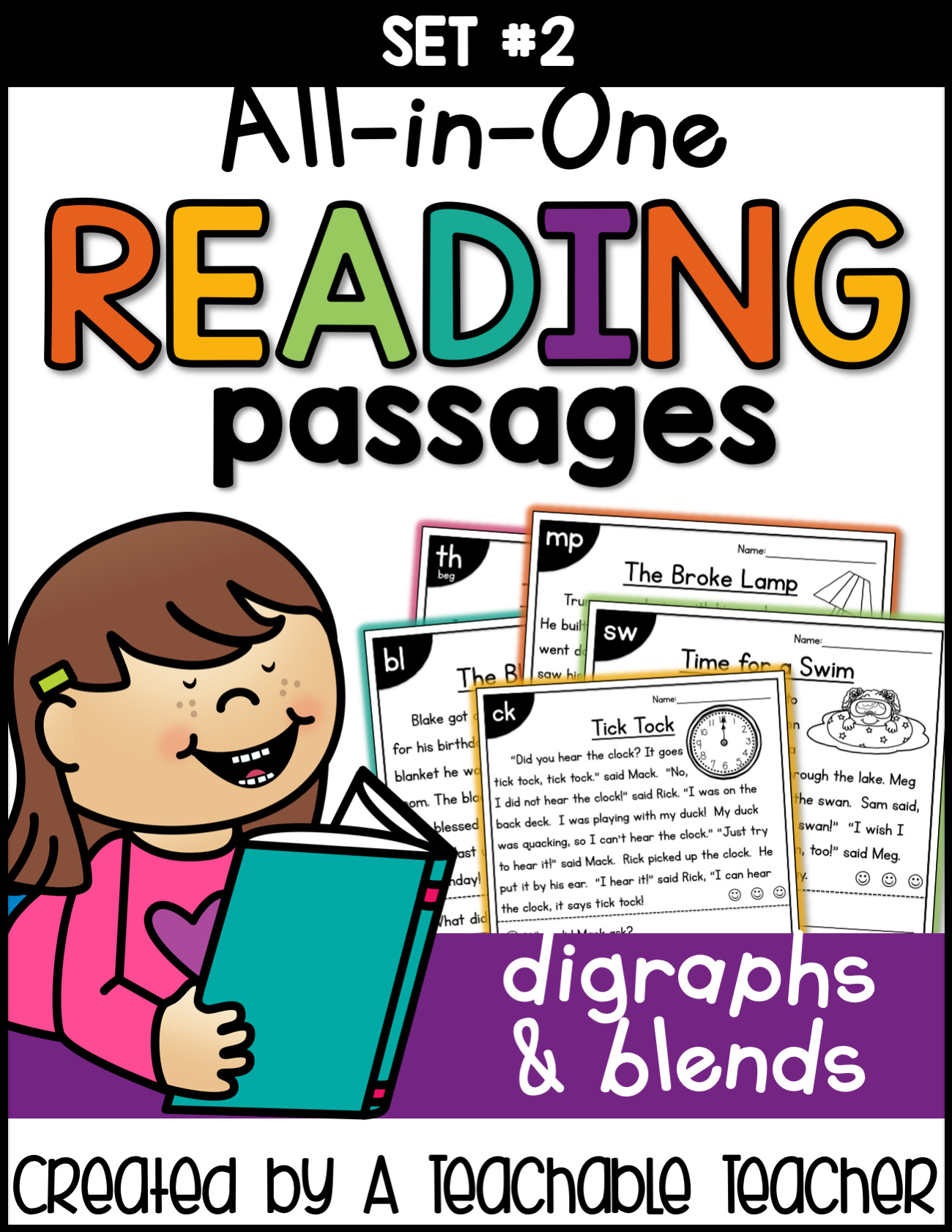 All In E Reading Passages Blends And Digraphs 2nd Edition